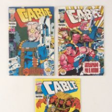 Cómics: LOTE 3 CÓMICS CABLE VOL.1 . FORUM (1-4). Lote 150956078