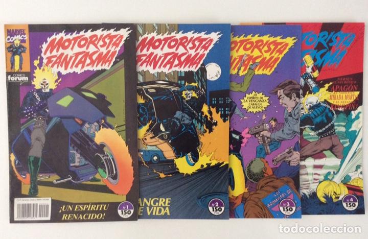 Cómics: LOTE 9 CÓMICS MOTORISTA FANTASMA Vol.1 FORUM (1-31) - Foto 2 - 150957141
