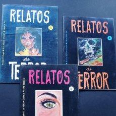Cómics: RELATOS DE TERROR ( 3-4-6 ) ED. MUNDESA 1985. Lote 150982774