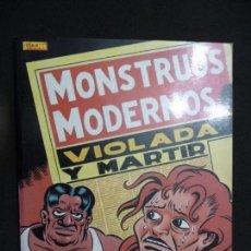 Cómics: MONSTRUOS MODERNOS. VIOLADA Y MÁRTIR. MARTI. LA CÚPULA. Lote 151036306