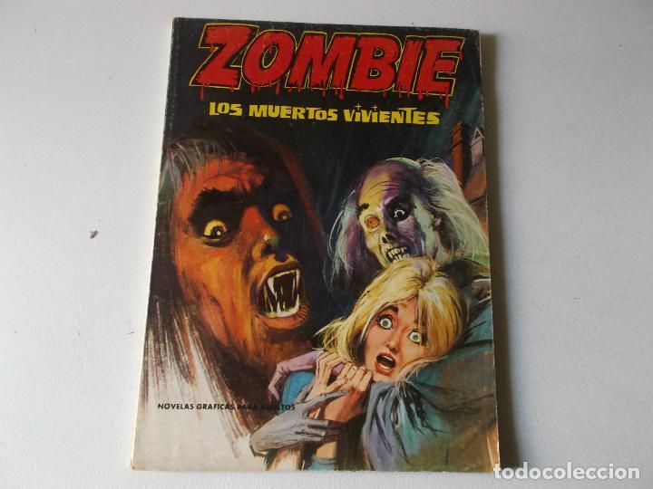 ZOMBIE, LOS MUERTOS VIVIENTES, EDI. PETRONIO 1973, 64 PGS. (Tebeos y Comics Pendientes de Clasificar)