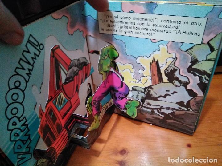 Cómics: El increíble Hulk, Ringmaster y su circo del crimen y Atrapados. Montena, Pop Up Lote Hulk - Foto 2 - 151103022