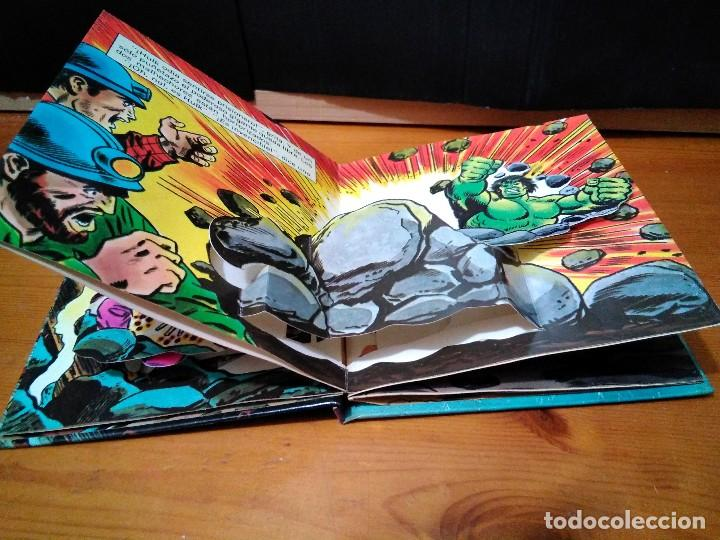 Cómics: El increíble Hulk, Ringmaster y su circo del crimen y Atrapados. Montena, Pop Up Lote Hulk - Foto 3 - 151103022