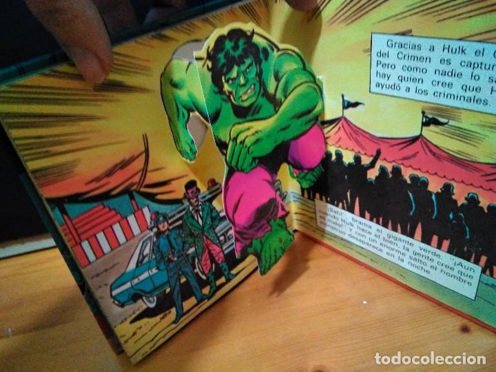 Cómics: El increíble Hulk, Ringmaster y su circo del crimen y Atrapados. Montena, Pop Up Lote Hulk - Foto 4 - 151103022