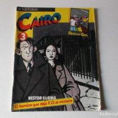Cómics: CAIRO 3. NESTOR BURMA, EL HOMBRE QUE DEJA K.O. AL MISTERIO. Lote 151104606