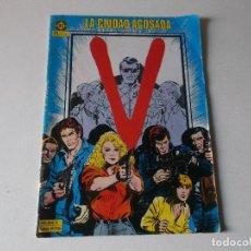 Cómics: V , NUMERO 1, LA CIUDAD ACOSADA EDICIONES ZINCO 1985. Lote 151109302