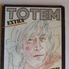 Cómics: COMIC TEBEO TOTEM EXTRA HOMENAJE A JOHN LENNON BEATLES. Lote 151152642