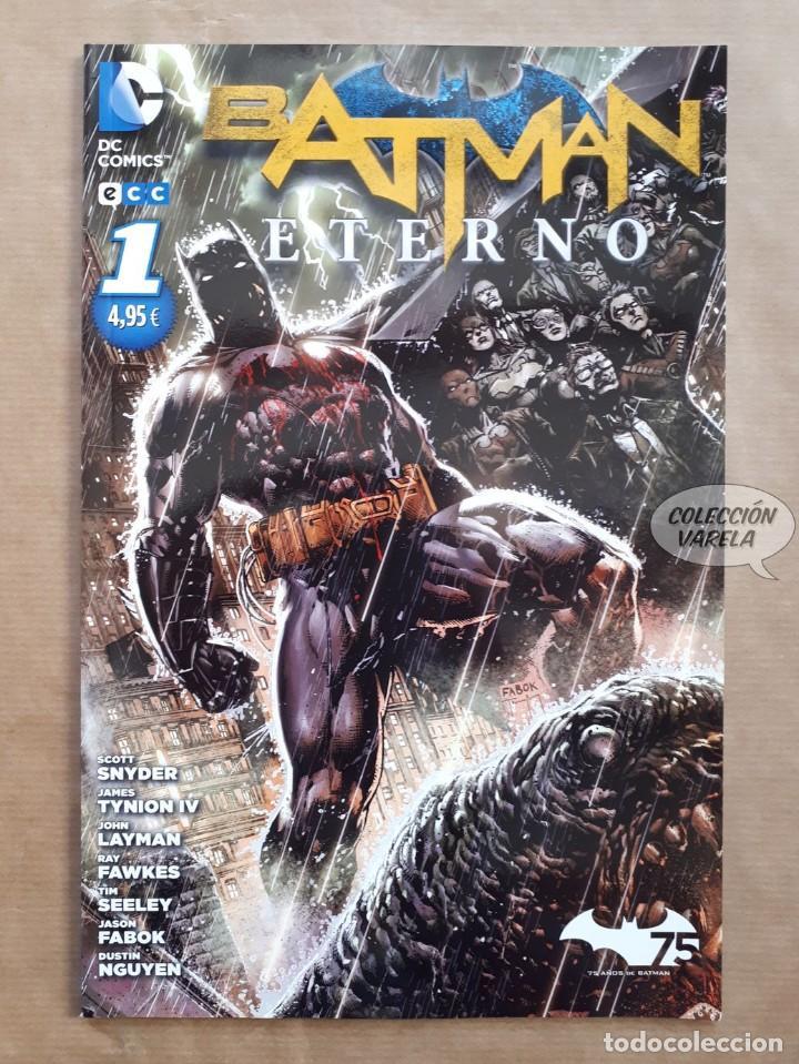 BATMAN ETERNO - Nº 1 - NUEVO UNIVERSO DC - ECC - JMV (Tebeos y Comics - Comics otras Editoriales Actuales)