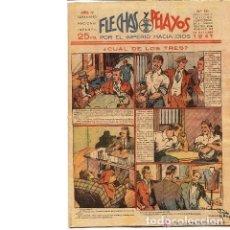 Cómics: FLECHAS Y PELAYOS Nº 151. SEMANARIO NACIONAL INFANTIL. 26 OCTUBRE 1941. Lote 53297055