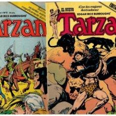 Cómics: TARZÁN. NºS.- 1 AL 8.COMPLETA TODO LO EDITADO POR TOUTAIN,1979. EXCELENTES.. Lote 151328338