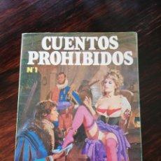 Cómics: CUENTOS PROHIBIDOS NUM 1. Lote 151358209