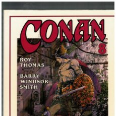 Cómics: CONAN. ROY THOMAS · BARRY WINDSOR-SMITH.COMPLETA 8 TOMOS. FORUM,1994.NUEVOS.. Lote 151420354