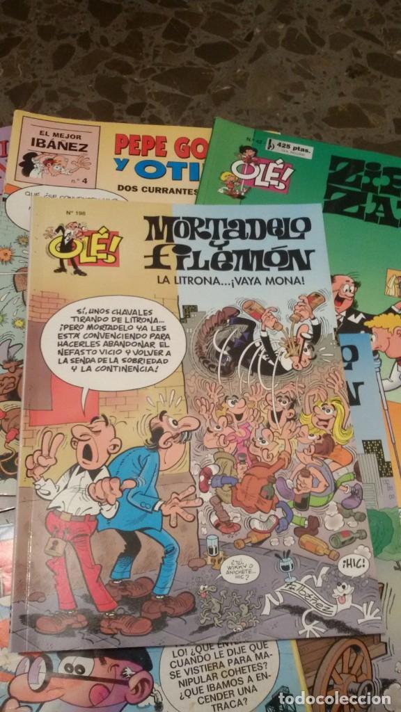 Cómics: LOTE 6 COMICS, MORTADELO, FAMILIA TRAPISONDA, ZIPI Y ZAPE, OLE. GASTOS ENVIO 5 EUROS - Foto 2 - 151438414