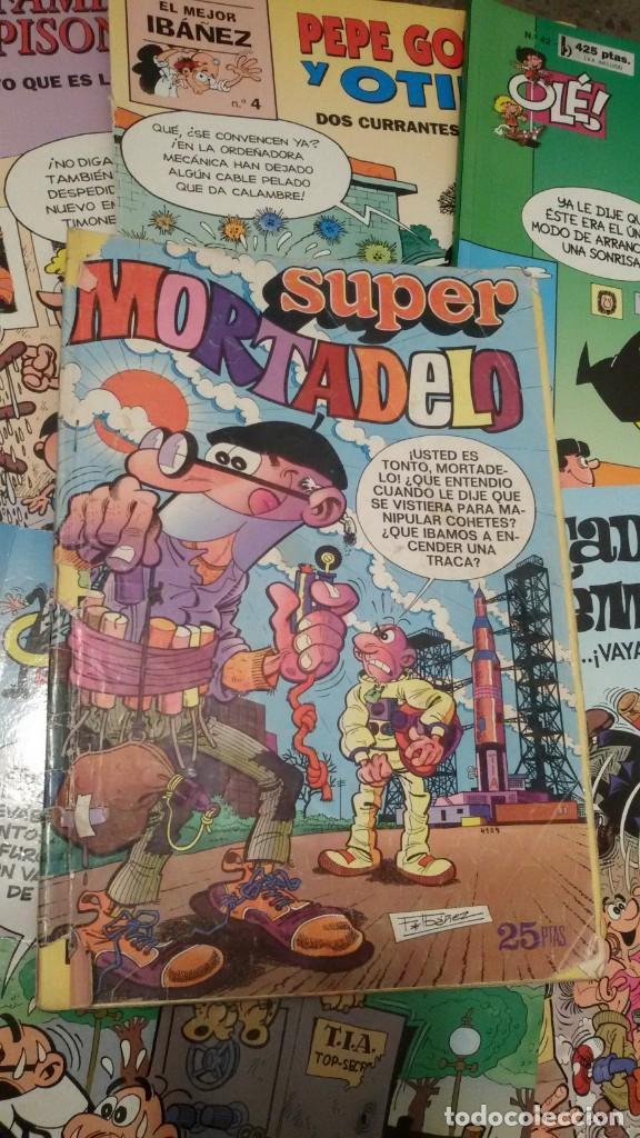 Cómics: LOTE 6 COMICS, MORTADELO, FAMILIA TRAPISONDA, ZIPI Y ZAPE, OLE. GASTOS ENVIO 5 EUROS - Foto 3 - 151438414
