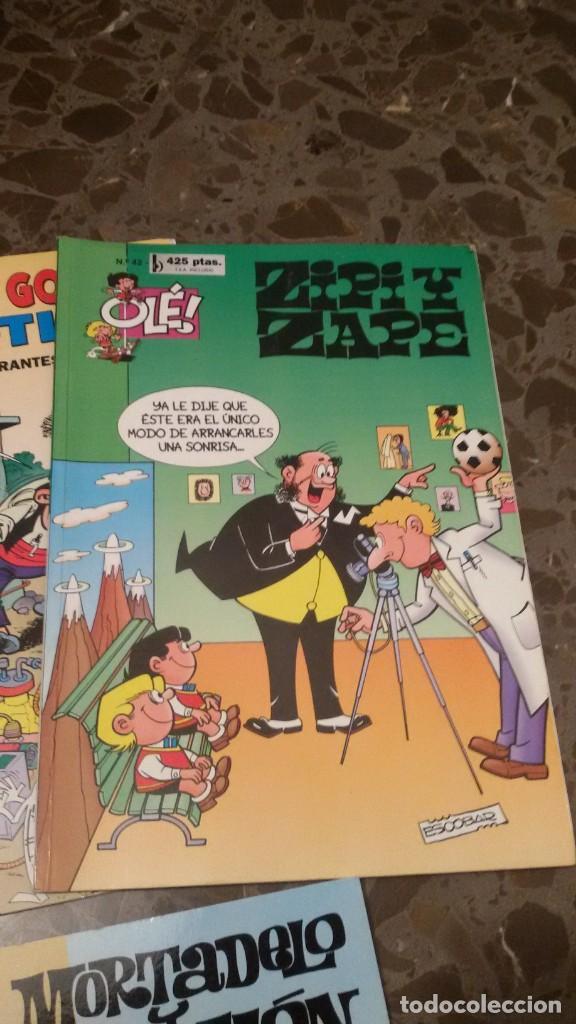 Cómics: LOTE 6 COMICS, MORTADELO, FAMILIA TRAPISONDA, ZIPI Y ZAPE, OLE. GASTOS ENVIO 5 EUROS - Foto 4 - 151438414
