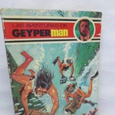 Cómics: LAS AVENTURAS DE GEYPERMAN. EDICIONES RECREATIVAS. 1978. COMICS VER FOTOGRAFIAS. Lote 151627162