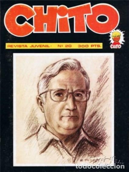 CHITO - REVISTA JUVENIL- Nº 20 - ESPECIAL EMILIO FREIXAS-1975-MUY ESCASO-DIFÍCIL-MUY BUENO-LEAN-5015 (Tebeos y Comics Pendientes de Clasificar)