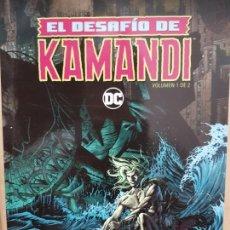 Cómics: EL DESAFIO DE KAMANDI , 2 TOMOS , EDICION RUSTICA , ECC COMICS 2017 . Lote 151642214