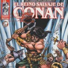 Comics : EL REINO SALVAJE DE CONAN. FORUM 2000. N¼ 23. Lote 267554114
