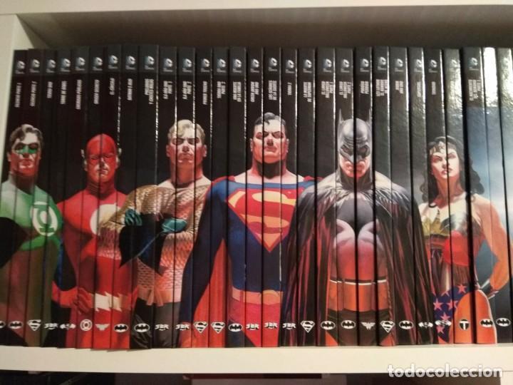 COLECCIÓN 60 LIBROS CÓMICS DC. SUPERMAN, BATMAN, OTROS.. (Tebeos y Comics Pendientes de Clasificar)