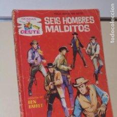 Cómics: COLECCION SENDAS DEL OESTE Nº 198 SEIS HOMBRES MALDITOS - FERMA -. Lote 151883206