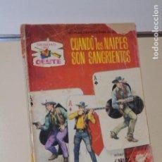 Cómics: COLECCION SENDAS DEL OESTE Nº 183 CUANDO LOS NAIPES SON SANGRIENTOS - FERMA -. Lote 151883530
