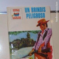 Cómics: COLECCION SENDAS SALVAJES Nº 170 UN BRINDIS PELIGROSO - PRODUCCIONES EDITORIALES -. Lote 151885238