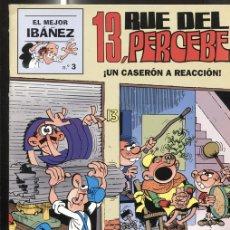 Cómics: EL PERIODICO (PRIMERA PLANA): EL MEJOR IBAÑEZ NUMERO 3: 13, RUE DEL PERCEBE. Lote 151950481
