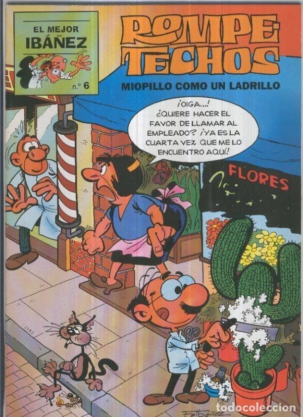 EL PERIODICO (PRIMERA PLANA): EL MEJOR IBAÑEZ NUMERO 6: ROMPETECHOS: MIOPILLO COMO UN LADRILLO (Tebeos y Comics Pendientes de Clasificar)