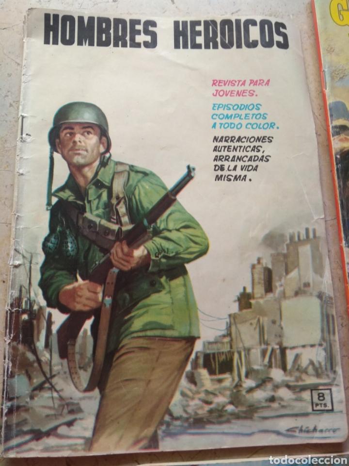 Cómics: Lote Tebeos Bélicos - Gran Combate - Hombres Heroicos - Cine Color Combate - - Foto 3 - 151981768