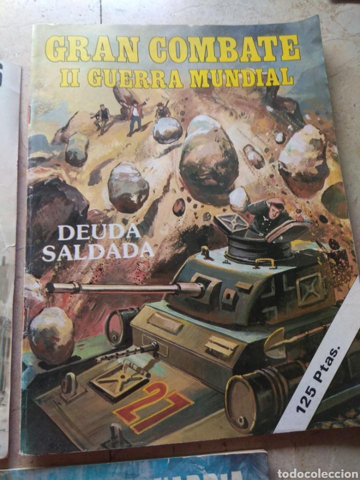 Cómics: Lote Tebeos Bélicos - Gran Combate - Hombres Heroicos - Cine Color Combate - - Foto 4 - 151981768