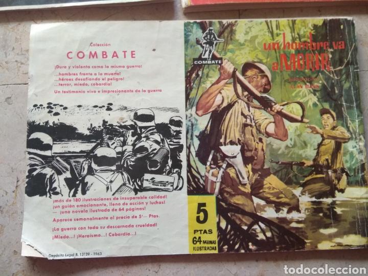 Cómics: Lote Tebeos Bélicos - Gran Combate - Hombres Heroicos - Cine Color Combate - - Foto 6 - 151981768