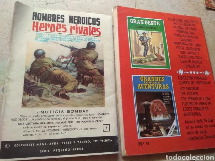 Cómics: Lote Tebeos Bélicos - Gran Combate - Hombres Heroicos - Cine Color Combate - - Foto 7 - 151981768