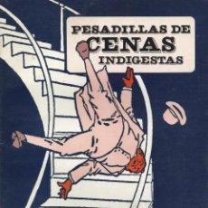 Cómics: PESADILLAS DE CENAS INDIGESTAS, WINSOR MCCAY. Lote 152065514