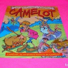 Cómics: CLASICOS DEL CINE DE ANIMACION, CAMELOT, LA VERDADERA HISTORIA DE CAMELOT.. Lote 152348642