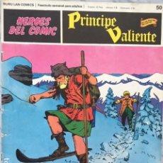Cómics: PRINCIPE VALIENTE Nº 50 - HEROES DEL COMIC - ED BURU LAN 1972. Lote 152356914