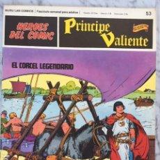 Cómics: PRINCIPE VALIENTE Nº 53 - HEROES DEL COMIC - ED. BURU LAN 1972. Lote 152357850