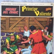 Cómics: PRINCIPE VALIENTE Nº 55 - HEROES DEL COMIC - ED. BURU LAN 1972. Lote 152358630