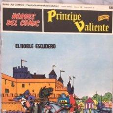 Cómics: PRINCIPE VALIENTE Nº 58 - HEROES DEL COMIC - ED. BURU LAN 1972. Lote 152359238