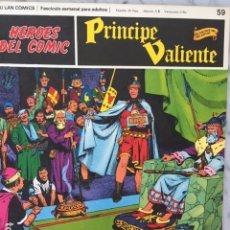 Cómics: PRINCIPE VALIENTE Nº 59 - HEROES DEL COMIC - ED. BURU LAN 1972. Lote 152359390
