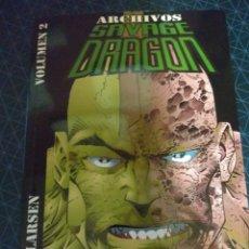 Cómics: ARCHIVOS SAVAGE DRAGON. TOMO 2.. Lote 152371805