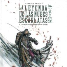 Cómics: LA LEYENDA DE LAS NUBES ESCARLATAS - ROSSELL / NÚMERO ÚNICO (EDICIÓN LIMITADA Y NUMERADA). Lote 152395314