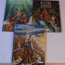 Cómics: ELYA. LAS BRUMAS DE ASCELTIS - ROSSELL / COLECCIÓN COMPLETA (EDICIÓN LIMITADA Y NUMERADA). Lote 152467070