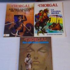 Cómics: THORGAL - DISTRINOVEL / COLECCIÓN COMPLETA (3 ÁLBUMES). Lote 152541266