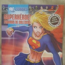 Cómics: DC CÓMICS, SUPERHÉROES FIGURAS DE COLECCIÓN. SUPERGIRL, N°14. EL PERSONAJE.ED. ALTAYA.. Lote 152541310