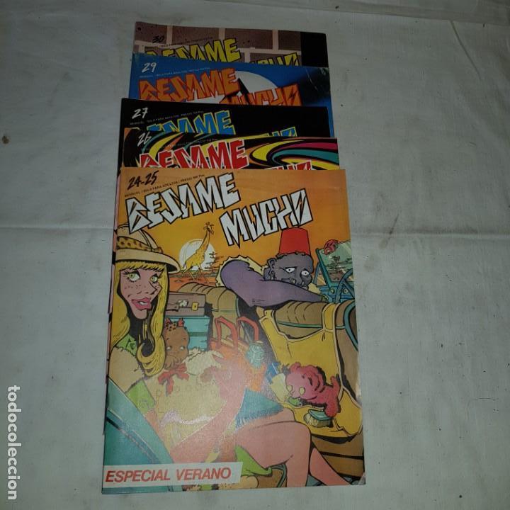 LOTE COMICS BESAME MUCHO . Nº 24-25-26-27-28-29 (Tebeos y Comics - Comics Pequeños Lotes de Conjunto)