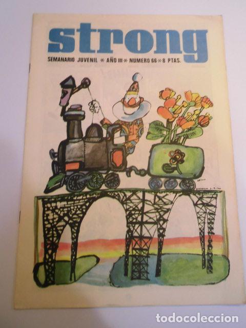 STRONG NUMERO 66 - EDICIONES ARGOS - 1969 (Tebeos y Comics - Comics otras Editoriales Actuales)