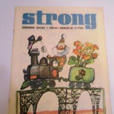 Cómics: STRONG NUMERO 66 - EDICIONES ARGOS - 1969. Lote 152566802