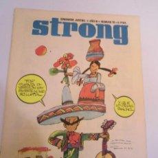 Cómics: STRONG NUMERO 70 - EDICIONES ARGOS - 1969. Lote 152567022