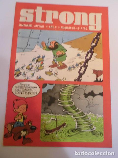 STRONG NUMERO 62 - EDICIONES ARGOS - 1969 (Tebeos y Comics - Comics otras Editoriales Actuales)
